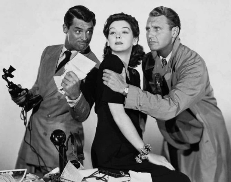 Promotional picture for His Girl Friday