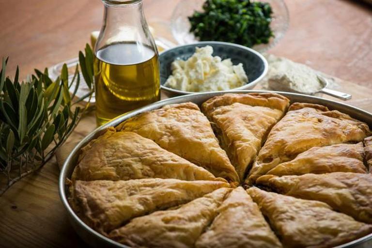 Traditional pie   Courtesy of Lemonis Bakery