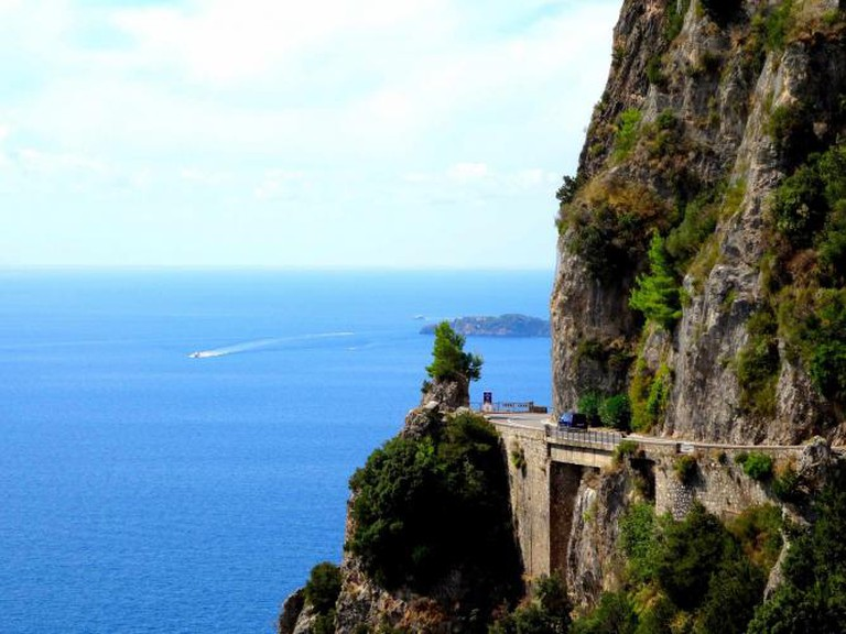Strada Statale 163 on the Amalfi Coast | © David van der Mark/Flickr