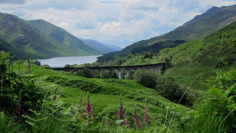 The West Highland Line on Glenfinnan Viaduct