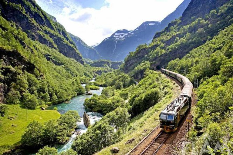 The Flåm Railway, Norway