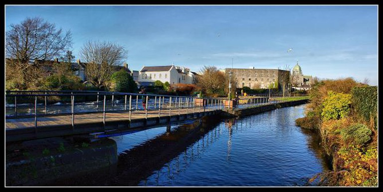 Galway canal view l