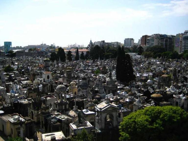 Recoleta Cemetery | Ⓒ Paul Brady