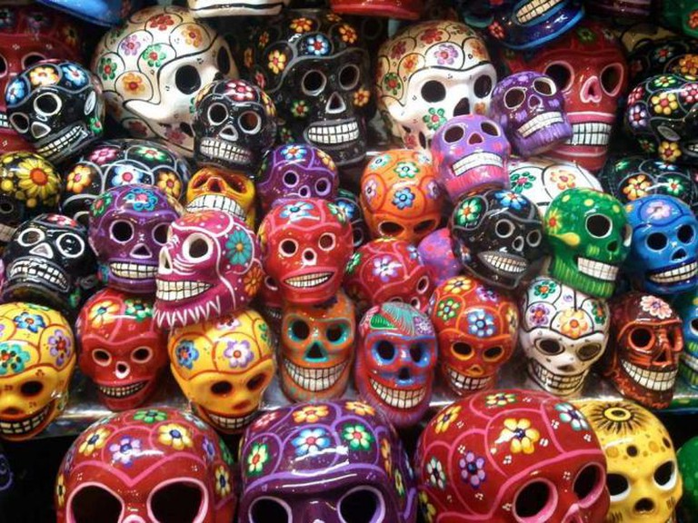 Coyoacán Skulls, Mercado de  Coyoacán | © Guillerminargp/WikiCommons