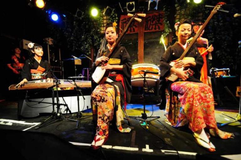 Performance at Taku Taku