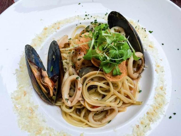 Mussel Linguine