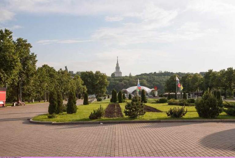 View on Vorobyovy Gory from Luzhniki © Nickolas Titkov/Flickr