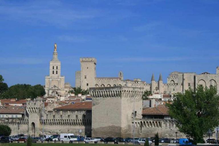 Avignon ramparts