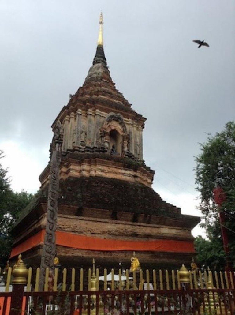 Wat Chedi Luang | Courtesy of Hannah Smith