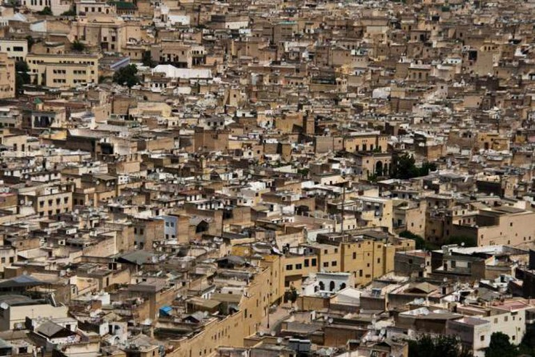 Rooftops of fes
