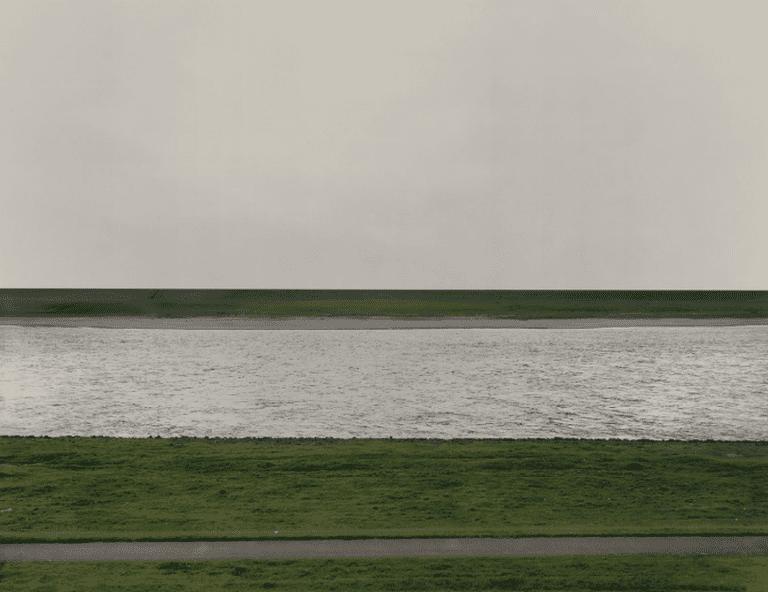Andreas Gursky's 'Rhine I'