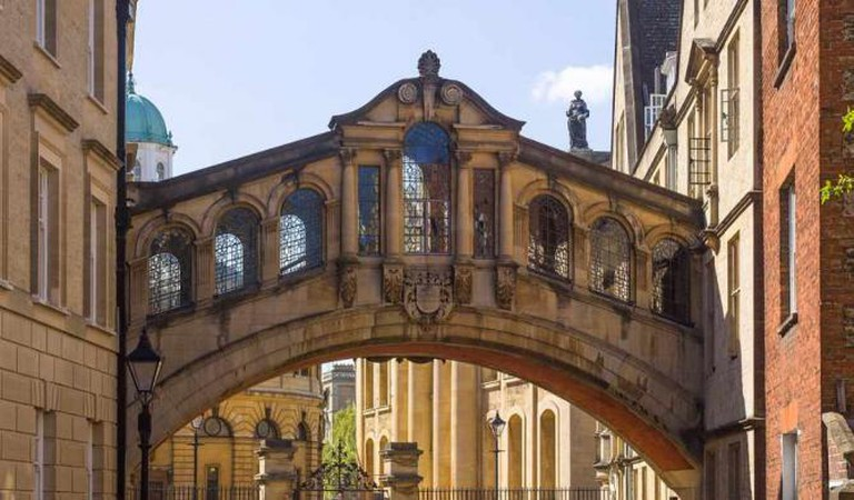 The 'Bridge of Sighs' at Hertford College | © Godot13/Wikicommons