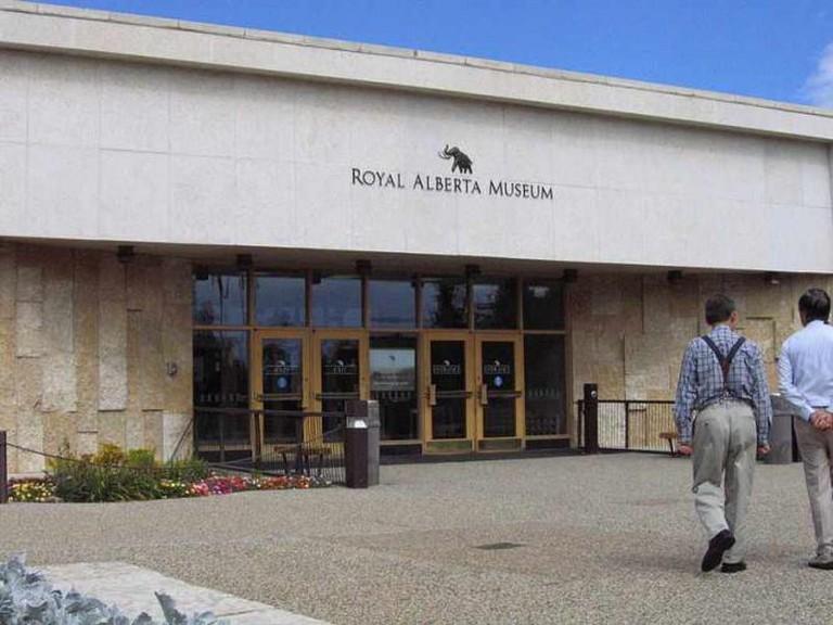 Royal Alberta Museum Front