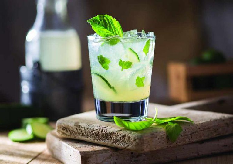 Cucumber Basil Smash | Courtesy of Seasons 52