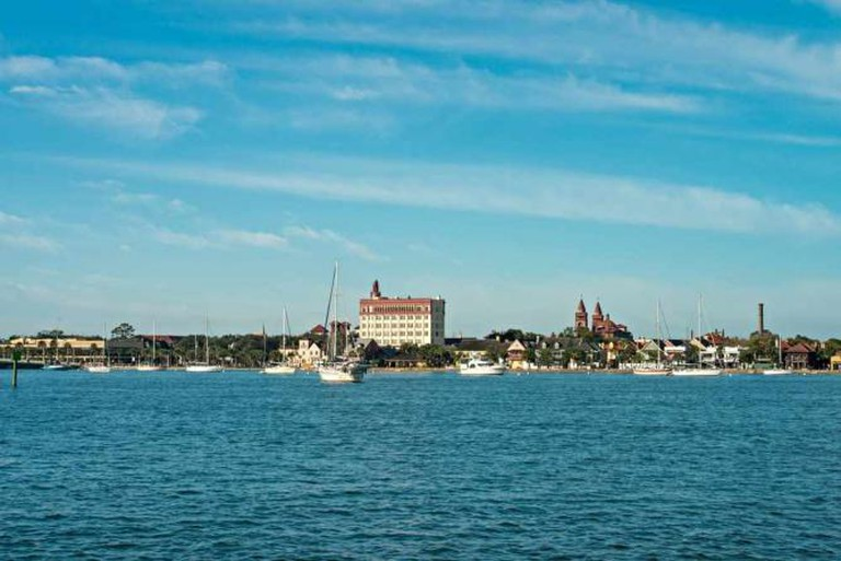 St. Augustine from Matanzas River