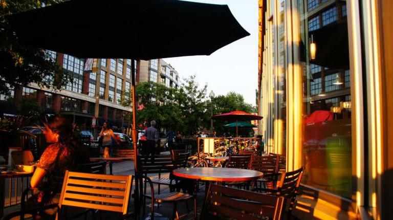 Logan Circle, summer