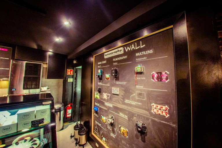 Lomography wall | Courtesy of 8tea5