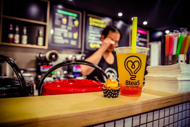 Bubble tea | Courtesy of 8tea5