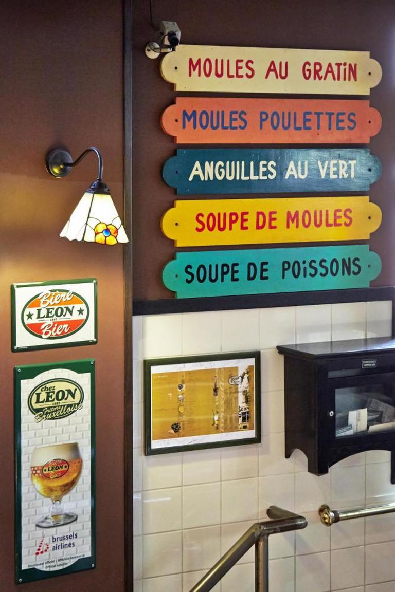 Chez Leon interior I Courtesy of Chez Leon