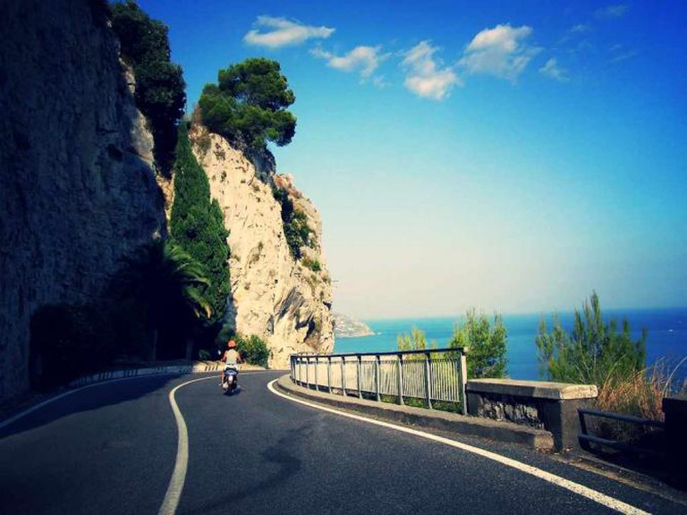 Motorbiking the Amalfi Coast