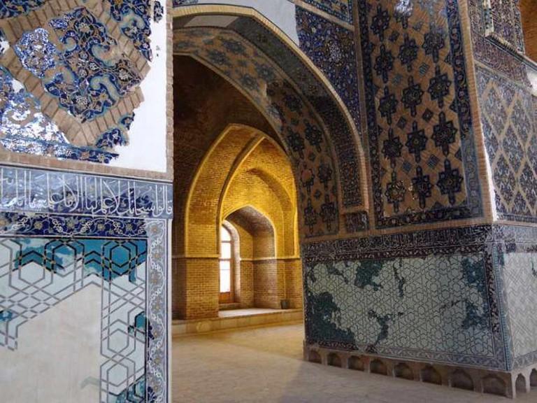 Blue Mosque interior | © Adam Jones/Wikicommons