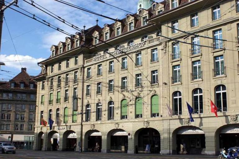 Hotel Schweizerhof ©AnBuKu/Wikicommons