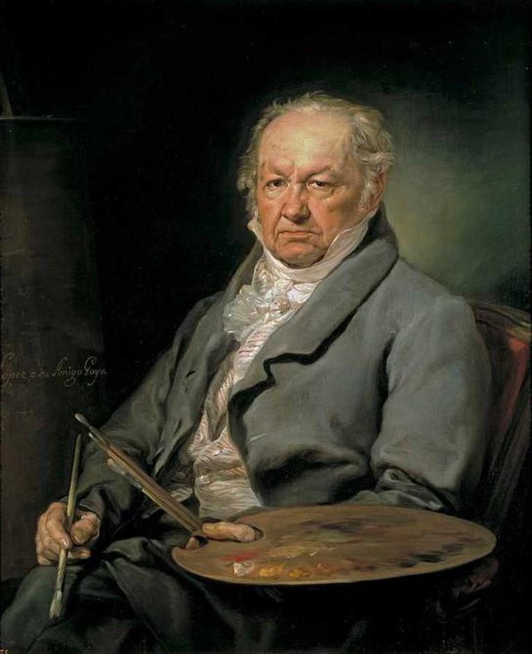 Francisco Goya by Vicente López y Portaña | © Museo Nacional del Prado