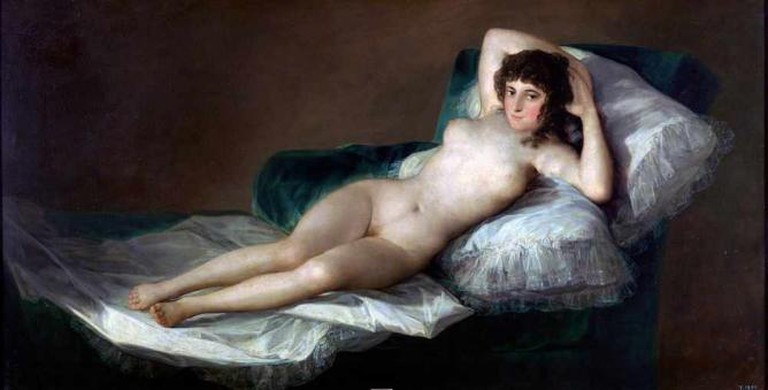 The Nude Maja | © Museo Nacional del Prado (Public domain)