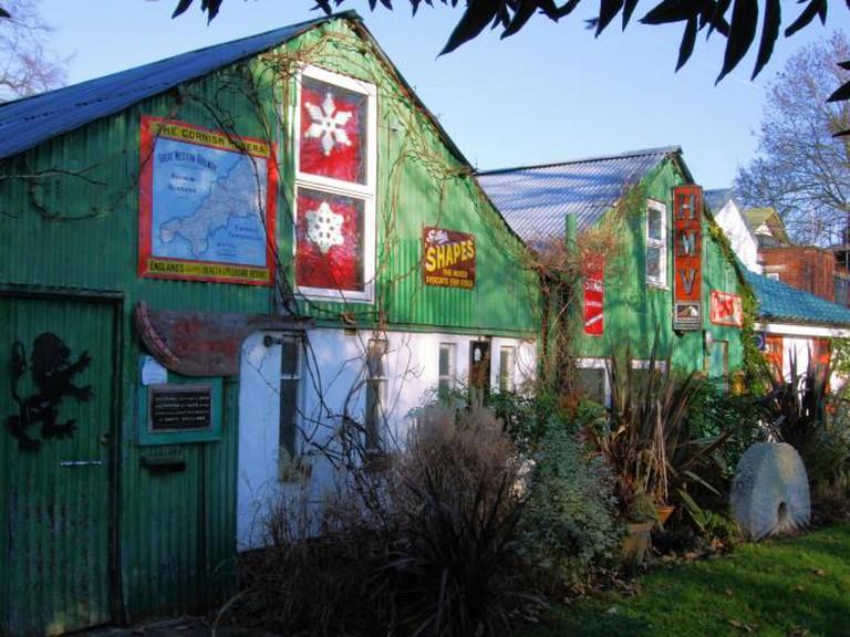 Houses on Eel Pie Island | © Jim Linwood/Flickr