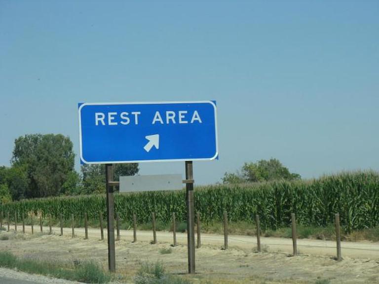 I-5 Rest Area | © Steven Damron/Flickr