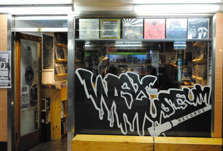 Wax Museum Records, under Flinders Street    © Vincent Huynh
