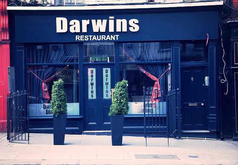 Darwin's Restaurant entrance