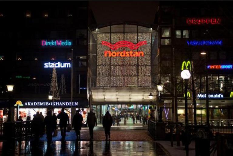 Nordstan Shopping Center in Gothenburg I