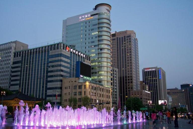 Seoul downtown | © Mario Sánchez Prada/Flickr