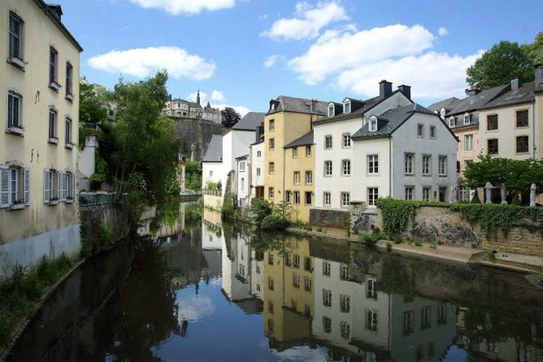 Reflection of Luxembourg City