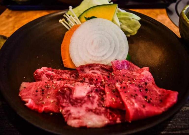 Premium Oki beef from Oki Gyu Ten restaurant, Ama Town, Nakanoshima.