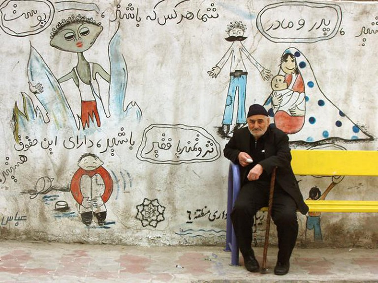 Street art in Tehran | © Kamyar Adl/Flickr