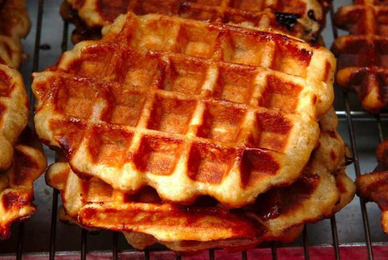 Liège waffles   Courtesy of Marc Verpoorten