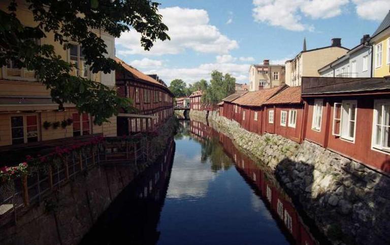 Västerås cannalside
