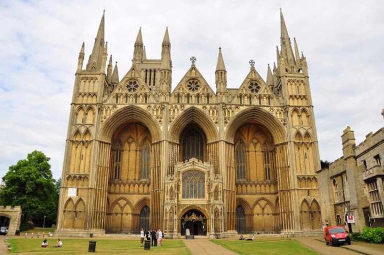 Peterborough Cathedral   © Ben Sutherland/Flickr