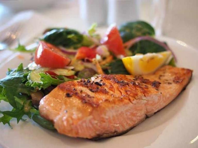 Salmon meal | © Pixabay