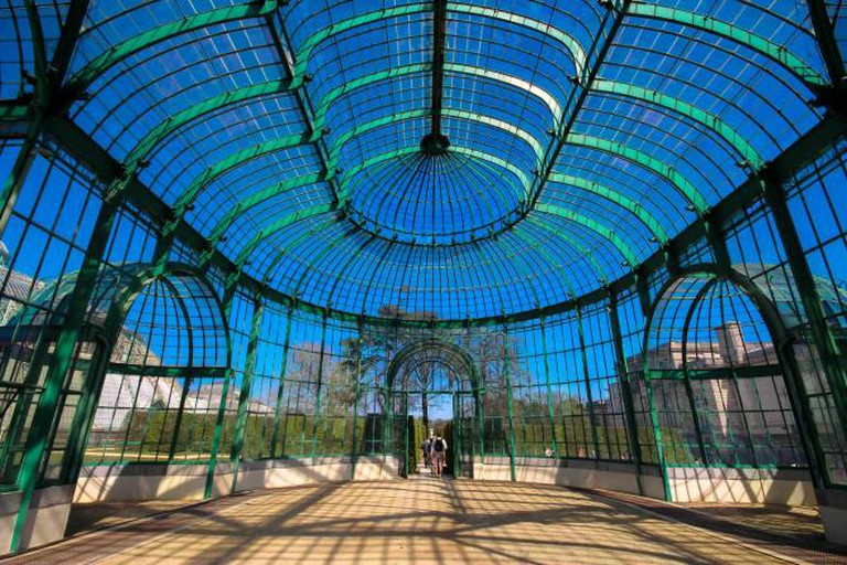 The Royal Greenhouses of Laeken