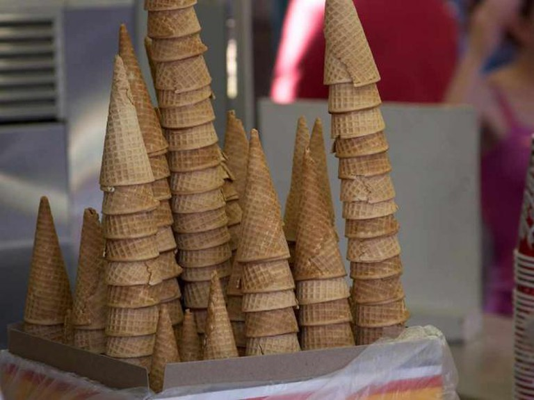 Ice cream cones | © Larsinio/Wikicommons