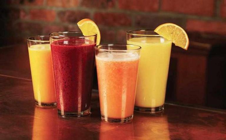 Juices | Courtesy of Eggspectation