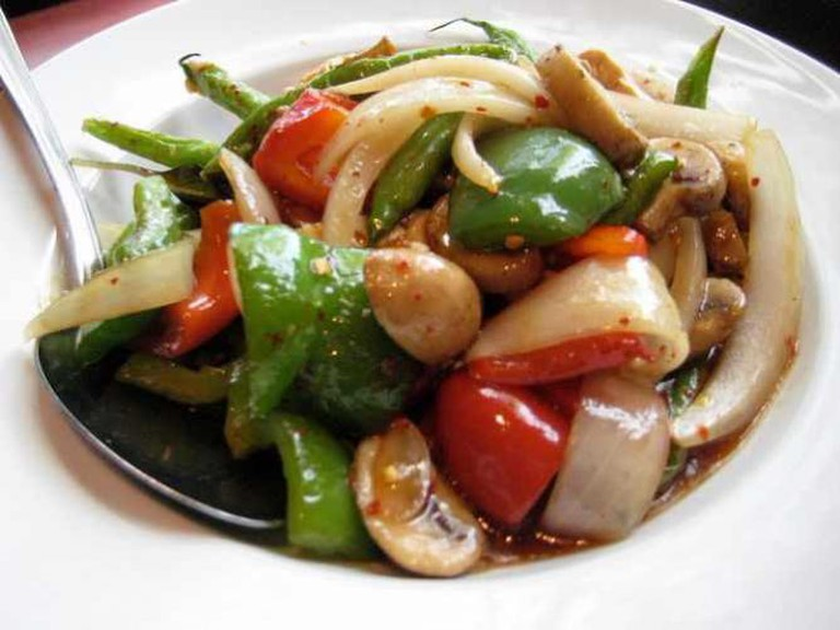 Vegetable Thai dish