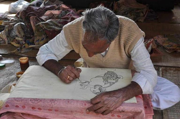 Kalamkari painting ©Anilbhardwajnoida/Wikicommons
