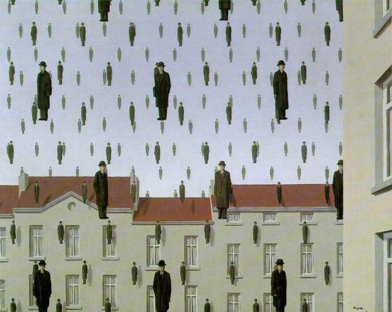 Golconda, René Magritte | © Ian Burt/Flickr