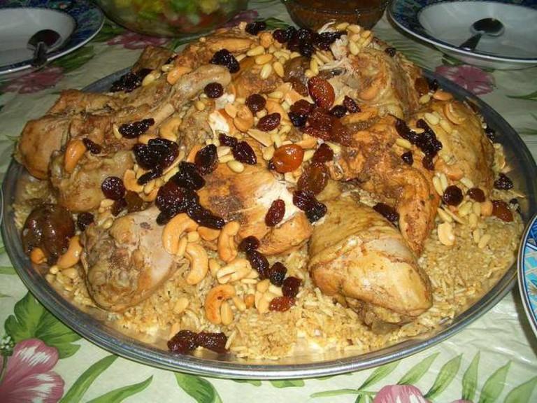 Food from the Arabian peninsula | © Jamal Tariq/Wikicommons