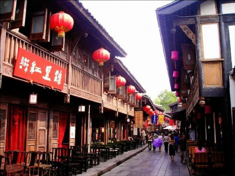 Jinli Historical District | © BenBen/Wikimedia Commons