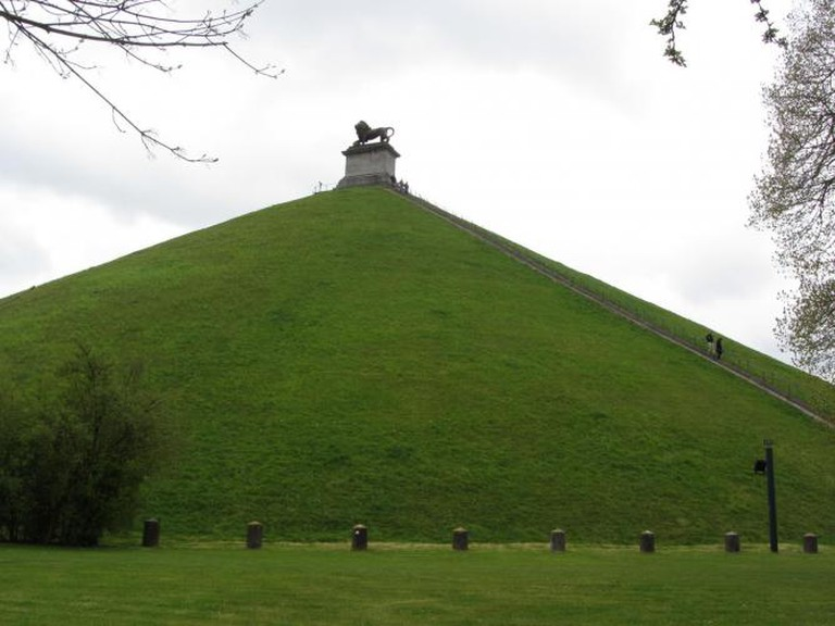 The Lion's Mound in Waterloo